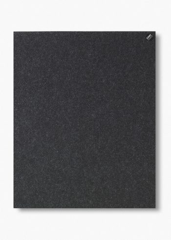 CHAT BOARD BuzziFelt magnetic pinboard in Anthracite