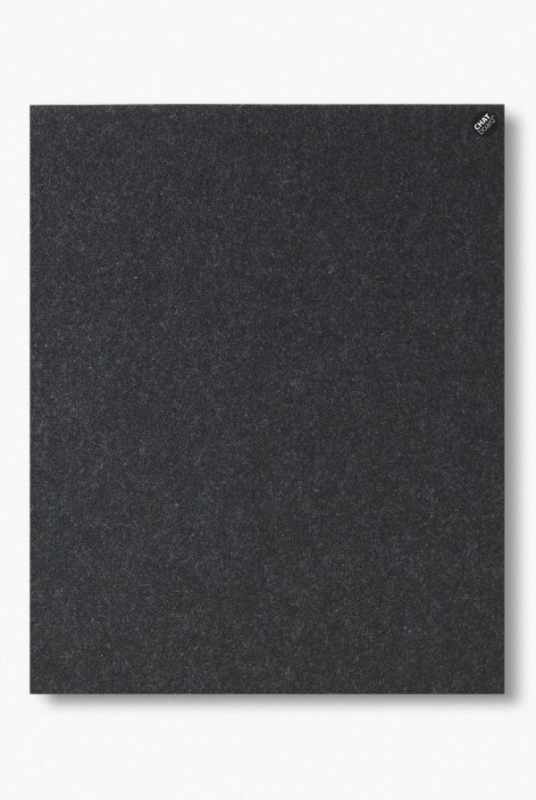 CHAT BOARD BuzziFelt magnetische Pinnwand in der Farbe Anthracite