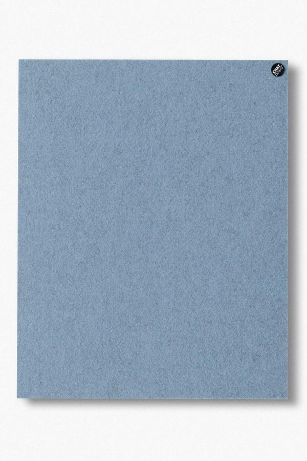 CHAT BOARD BuzziFelt magnetische Pinnwand in der Farbe Light Blue