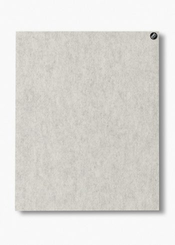 CHAT BOARD BuzziFelt magnetic pinboard in Off White