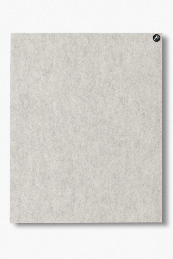 CHAT BOARD BuzziFelt magnetische Pinnwand in der Farbe Off White