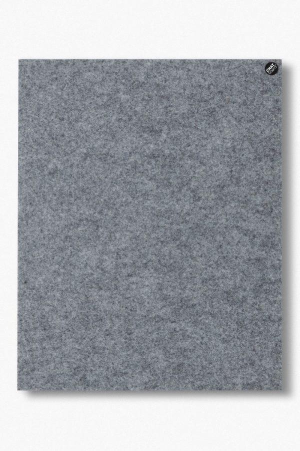 CHAT BOARD BuzziFelt magnetische Pinnwand in der Farbe Stone Grey