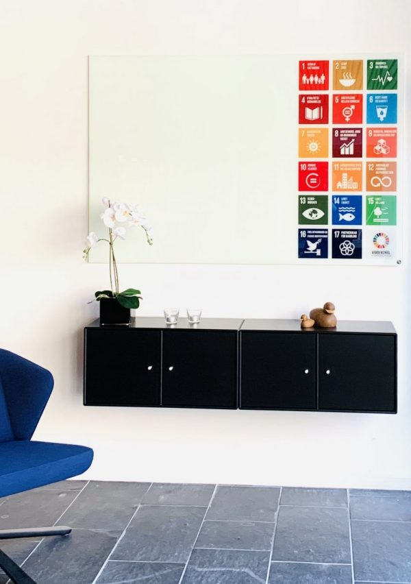 CHAT BOARD Classic Print with UN World Goals