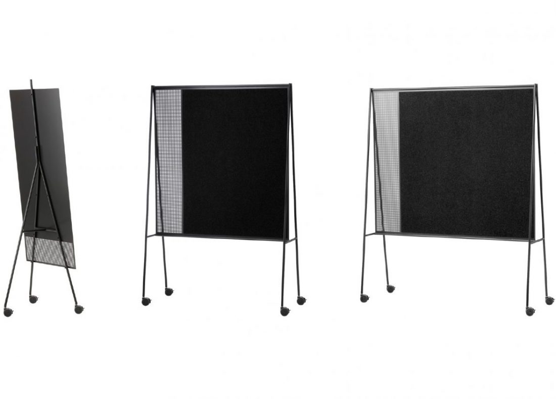 CHAT BOARD SQUAD mobile units in Black & Anthracite backside views