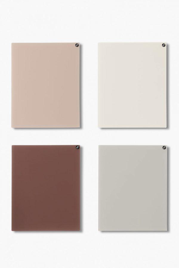 CHAT BOARD Classic Quartett in warmen neutralen Farben