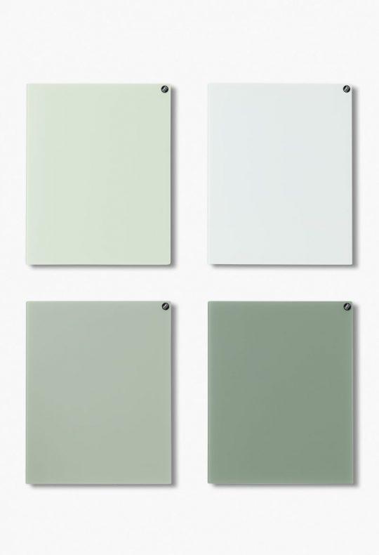 CHAT BOARD Classic Quartett in grünen Farben