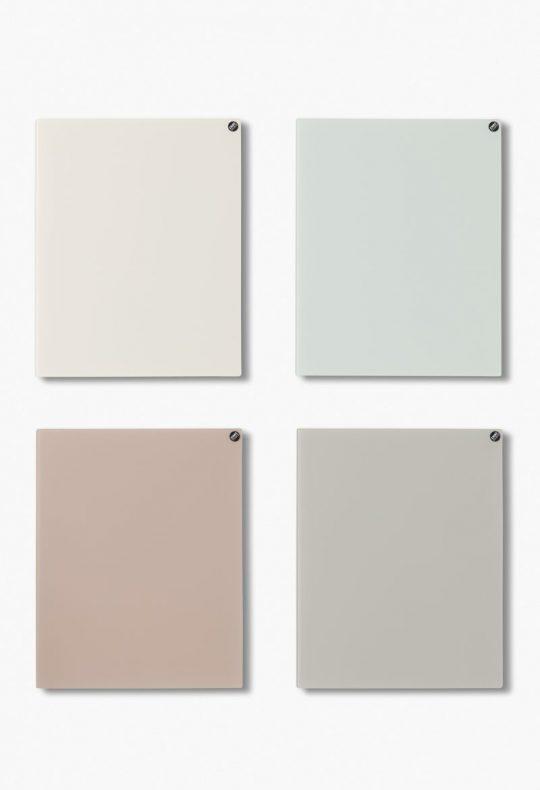 CHAT BOARD Classic Quartett in hellen neutralen Farben