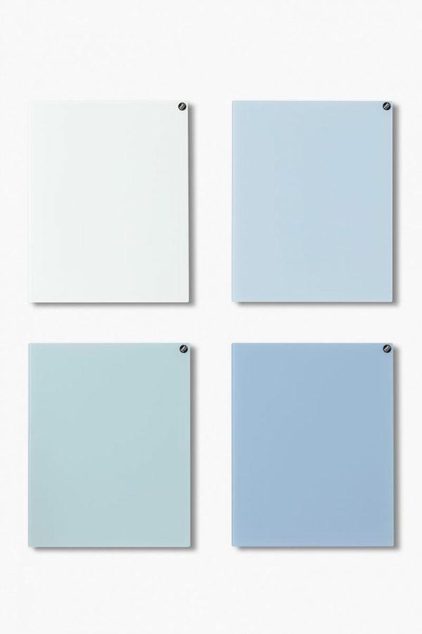CHAT BOARD Classic Quartett in blauen Farben