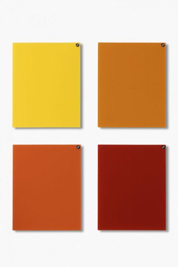 CHATBOARD Classic quad in orange and red tones