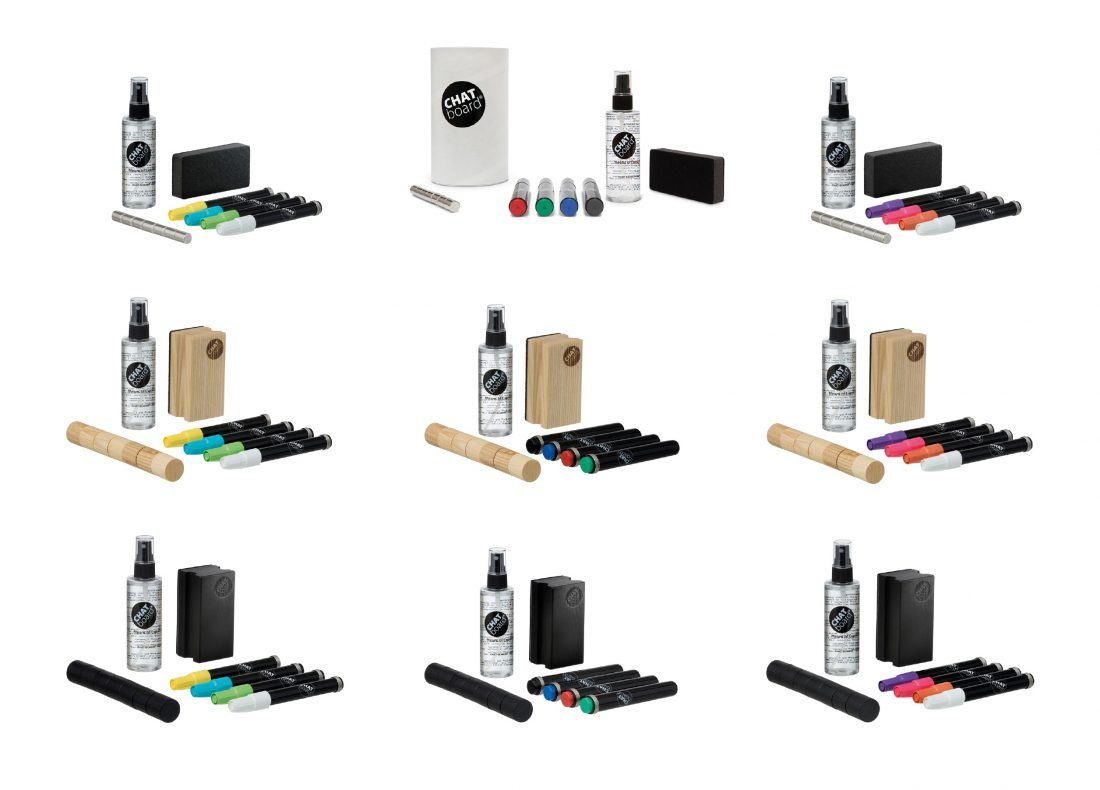 CHAT BOARD Starter Sets in all 9 different varieties