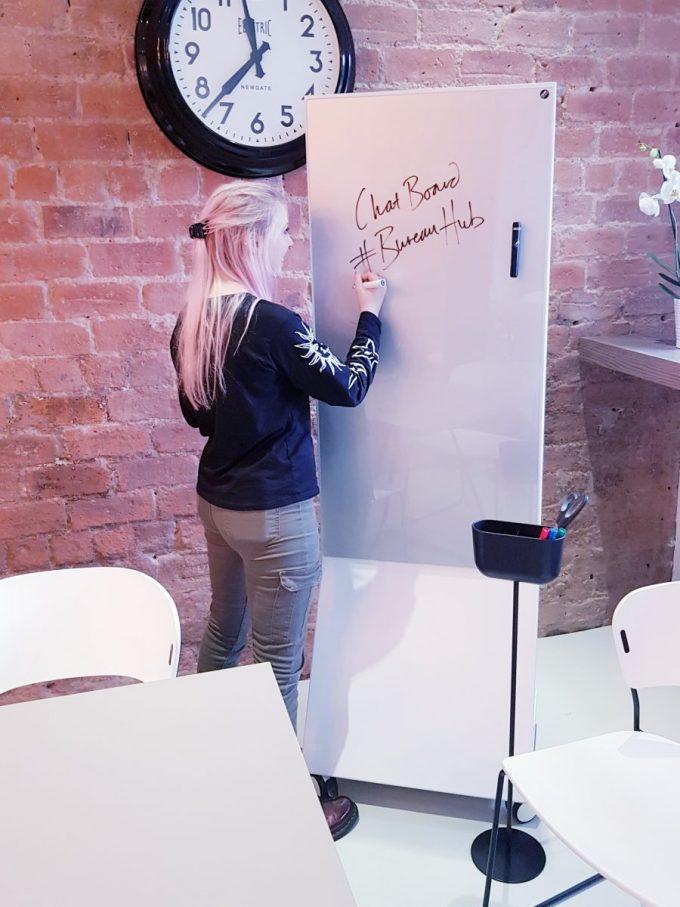 CHAT BOARD Mobile Executive at Bureau Hub in Glasgow