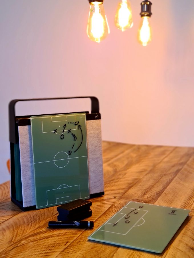 Bespoke football strategy Sketch Boards made for undisclosed client in Germany