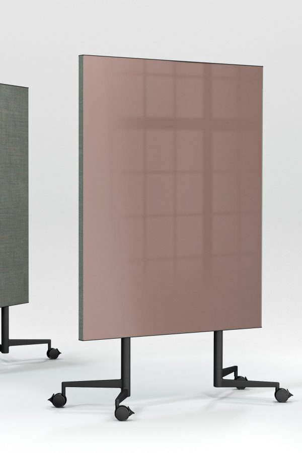 CHAT BOARD Move Acoustic with glass in Blush and Remix Screen in 0908 - gallery image format