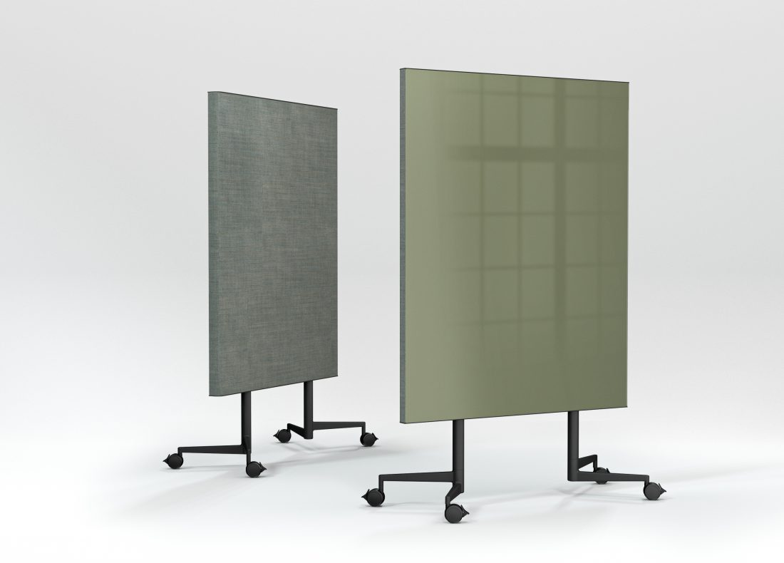 CHAT BOARD Move Acoustic with Khaki glass and Remix Screen in 0908