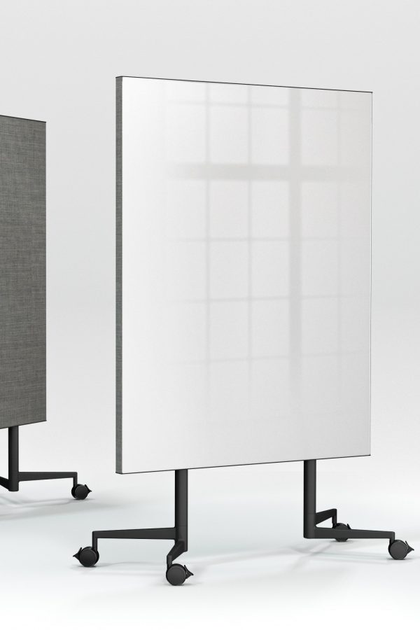 CHAT BOARD Move Acoustic Pure White glass and Remix 0143