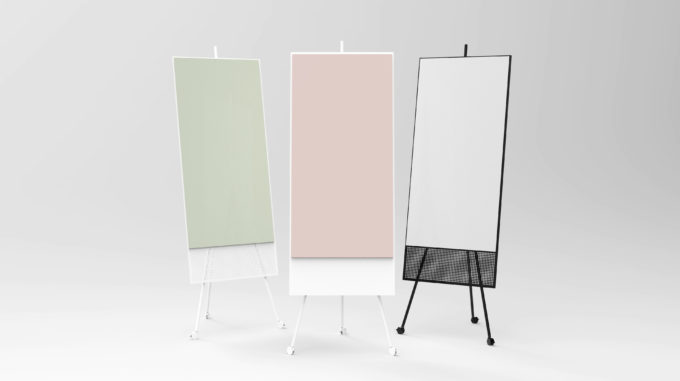 SQUAD Solid The Runner in White with glass in Blush, grouped with SQUAD The Runner in White with glass in Khaki and SQUAD The Runner in Clack with glass in Dove
