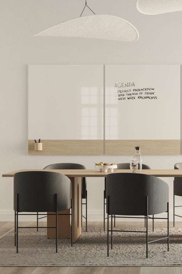 CHAT BOARD Classic Crafted in a meeting room setting